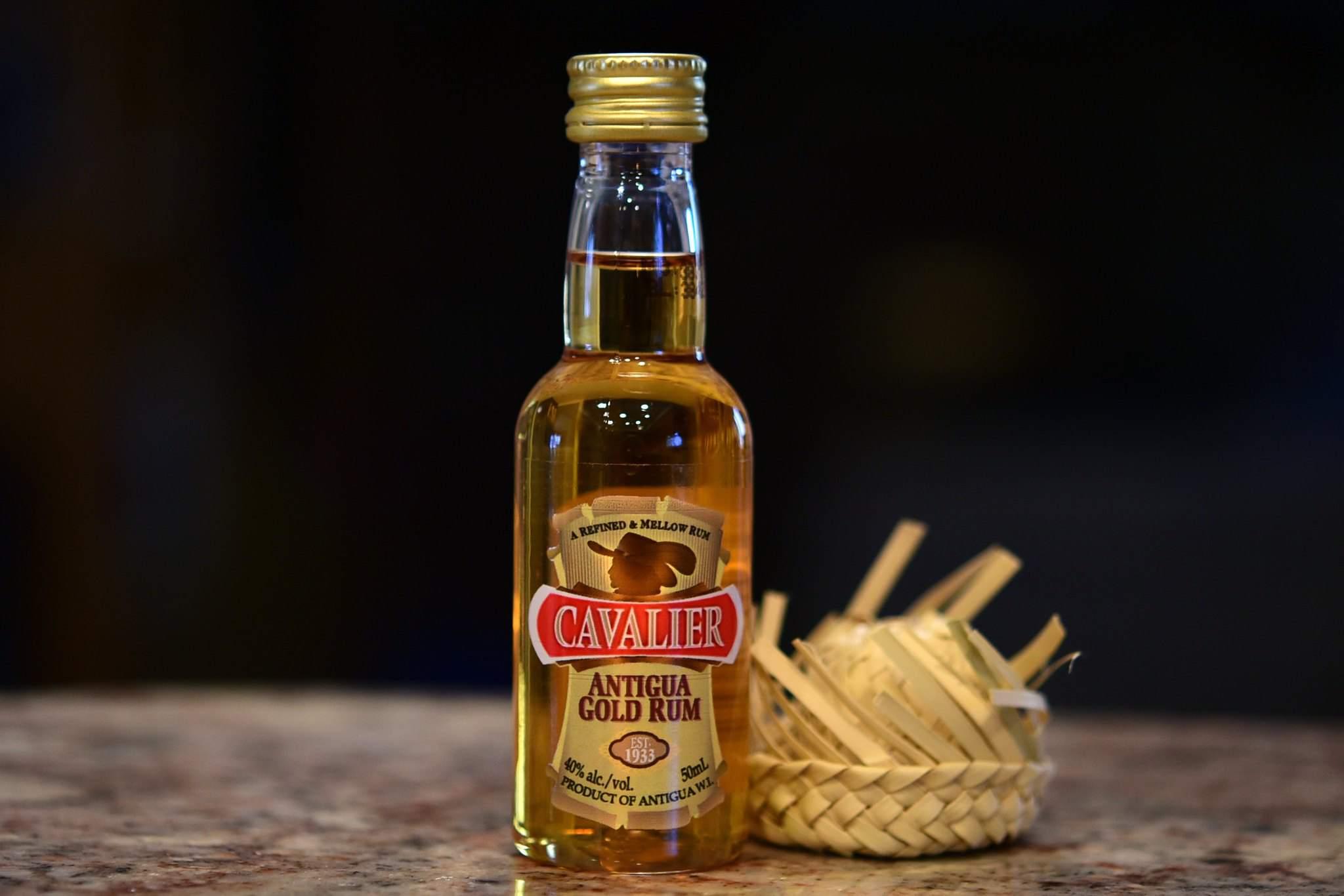 Cavalier rum product shot