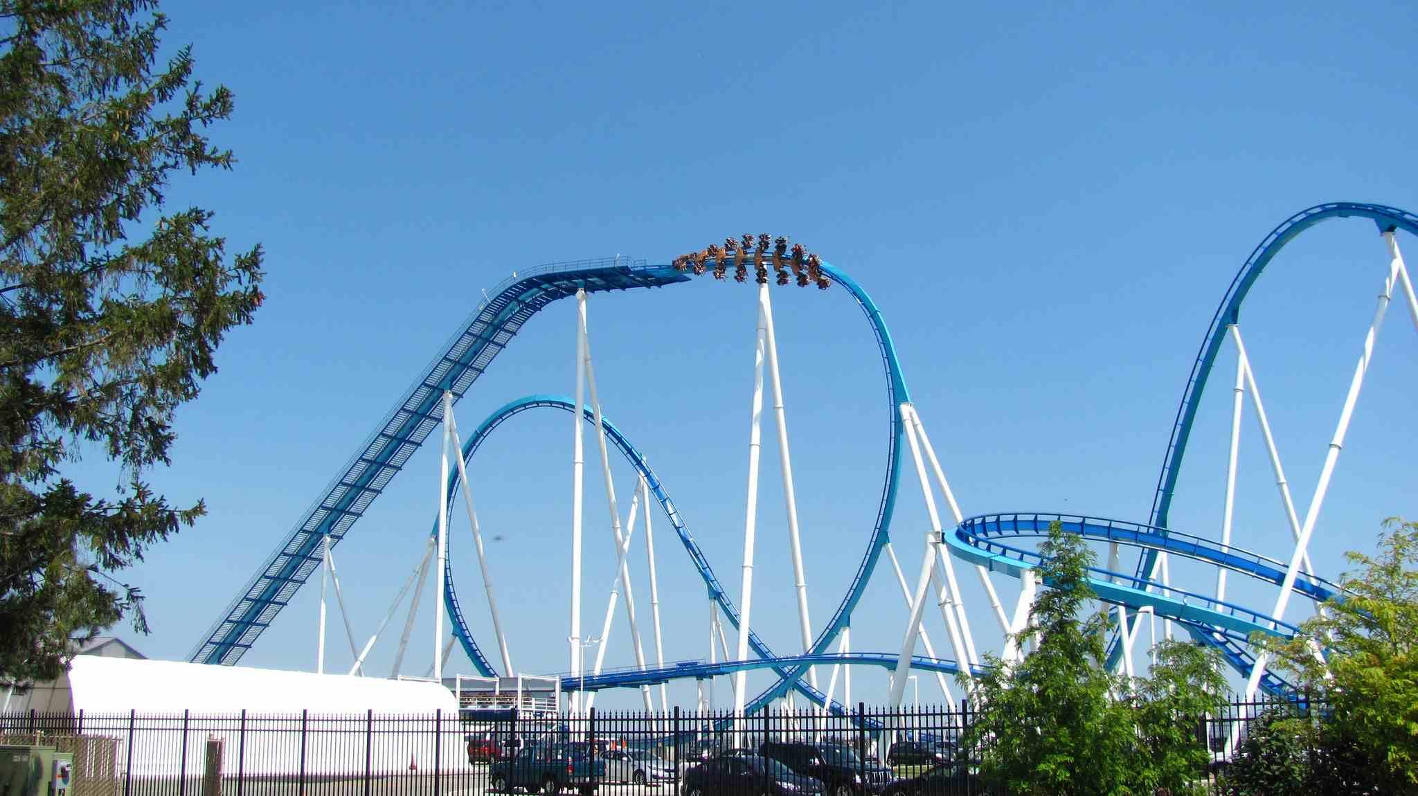 GateKeeper Roller Coaster at Cedar Point