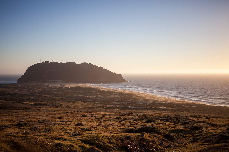 Point Sur Lighthouse on October 14, 2013 near Big Sur, California.