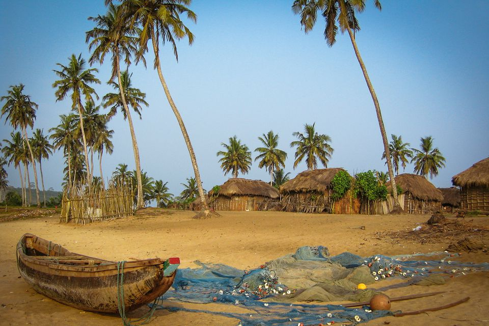 Ghanaian Fishing Village