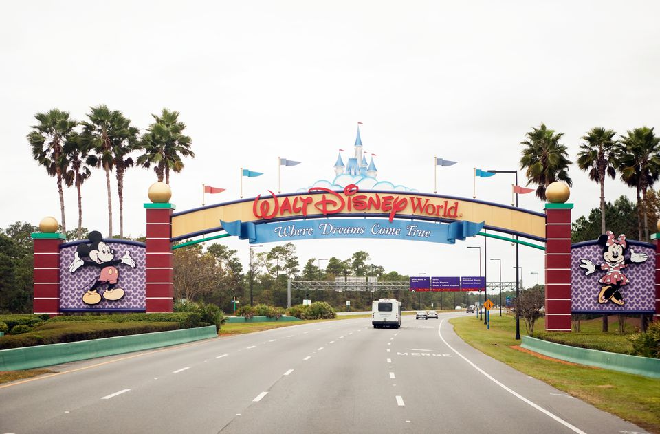 Entrada sur de Disney World en Orlando Florida