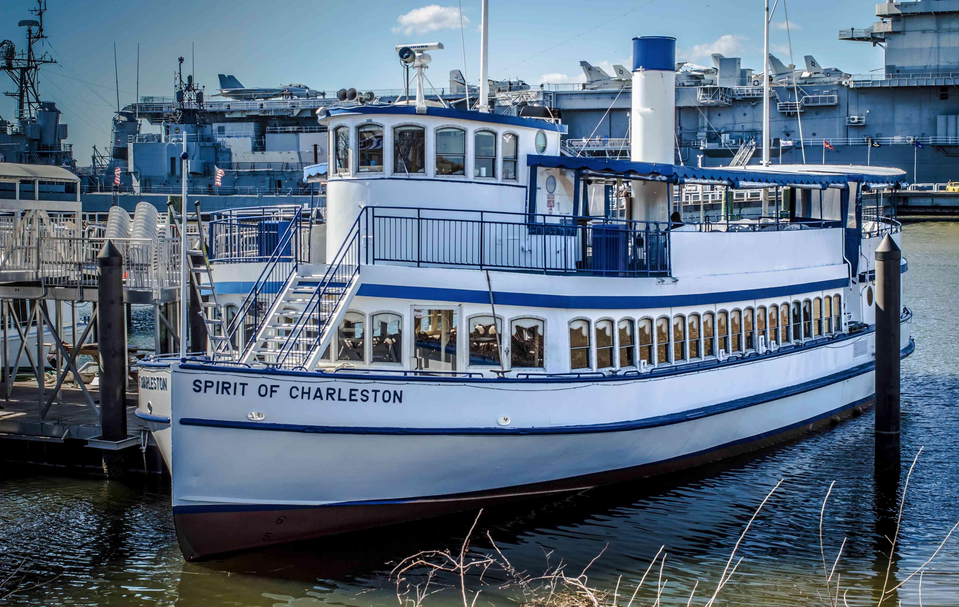 Spirit of Charleston tour boat