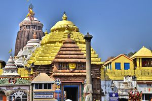 Main entrance to Jagannath temple, Puri.