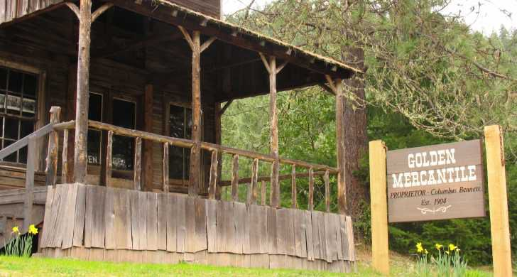 southern Oregon Ghost Town