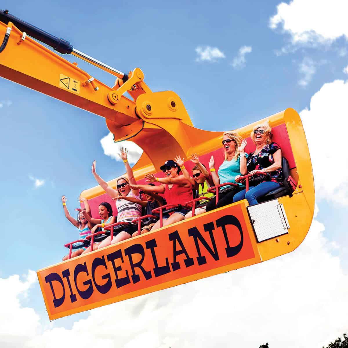 Diggerland USA NJ theme park