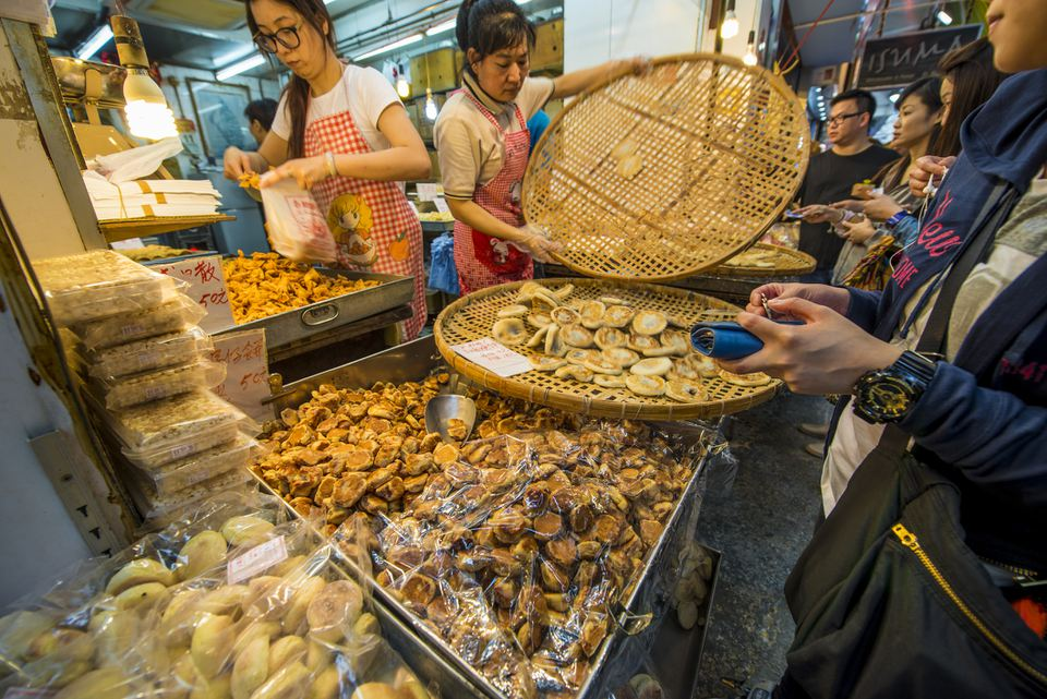 Kowloon street food stall