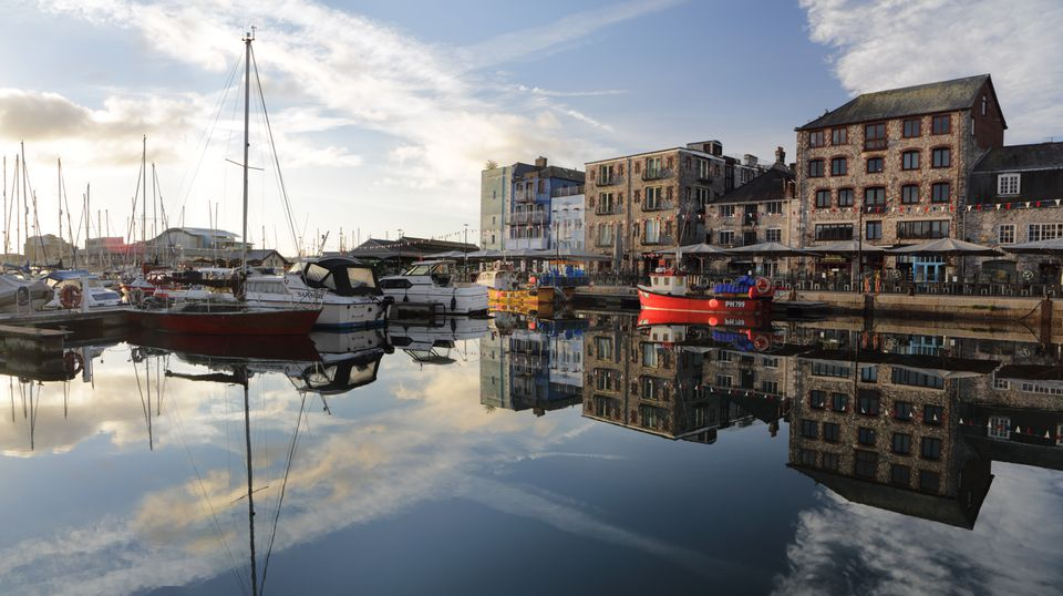 Harbour at Plymouth Barbican