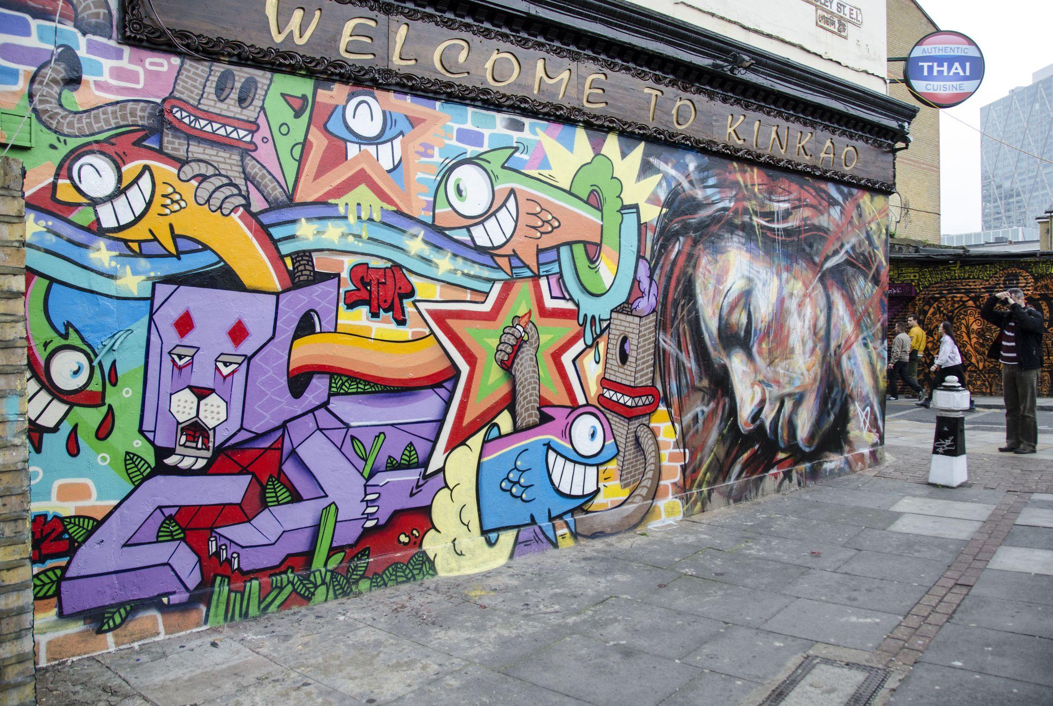 London Street Art Self Guided Walking Tour