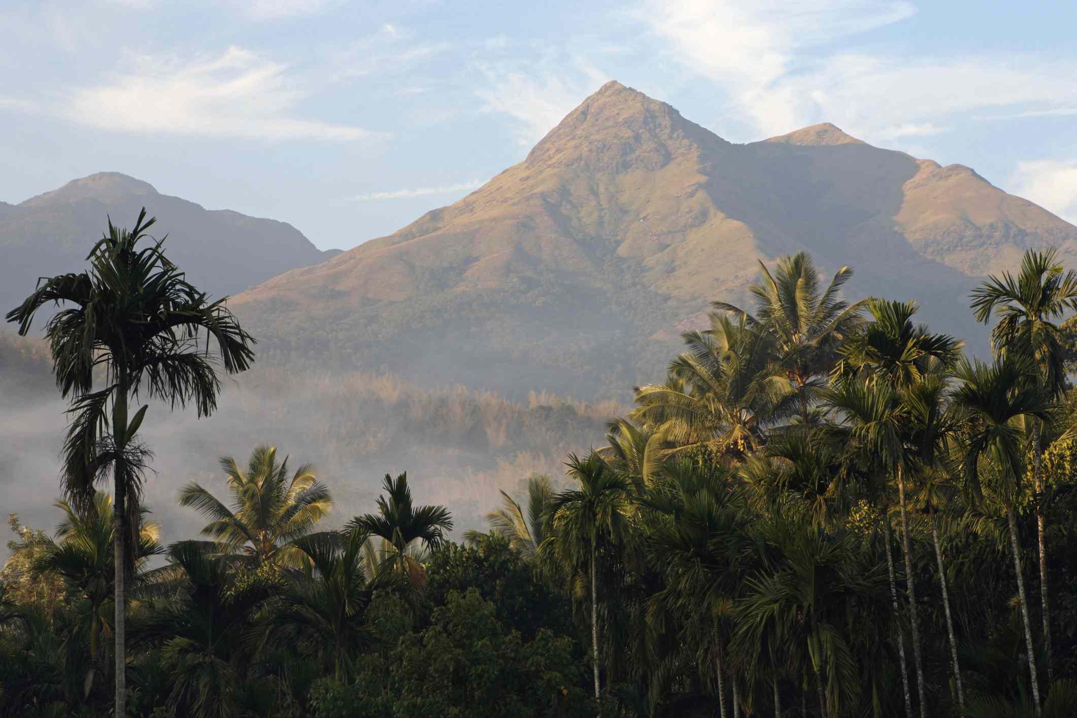 Pico Chembra, distrito Wayanad, Kerala