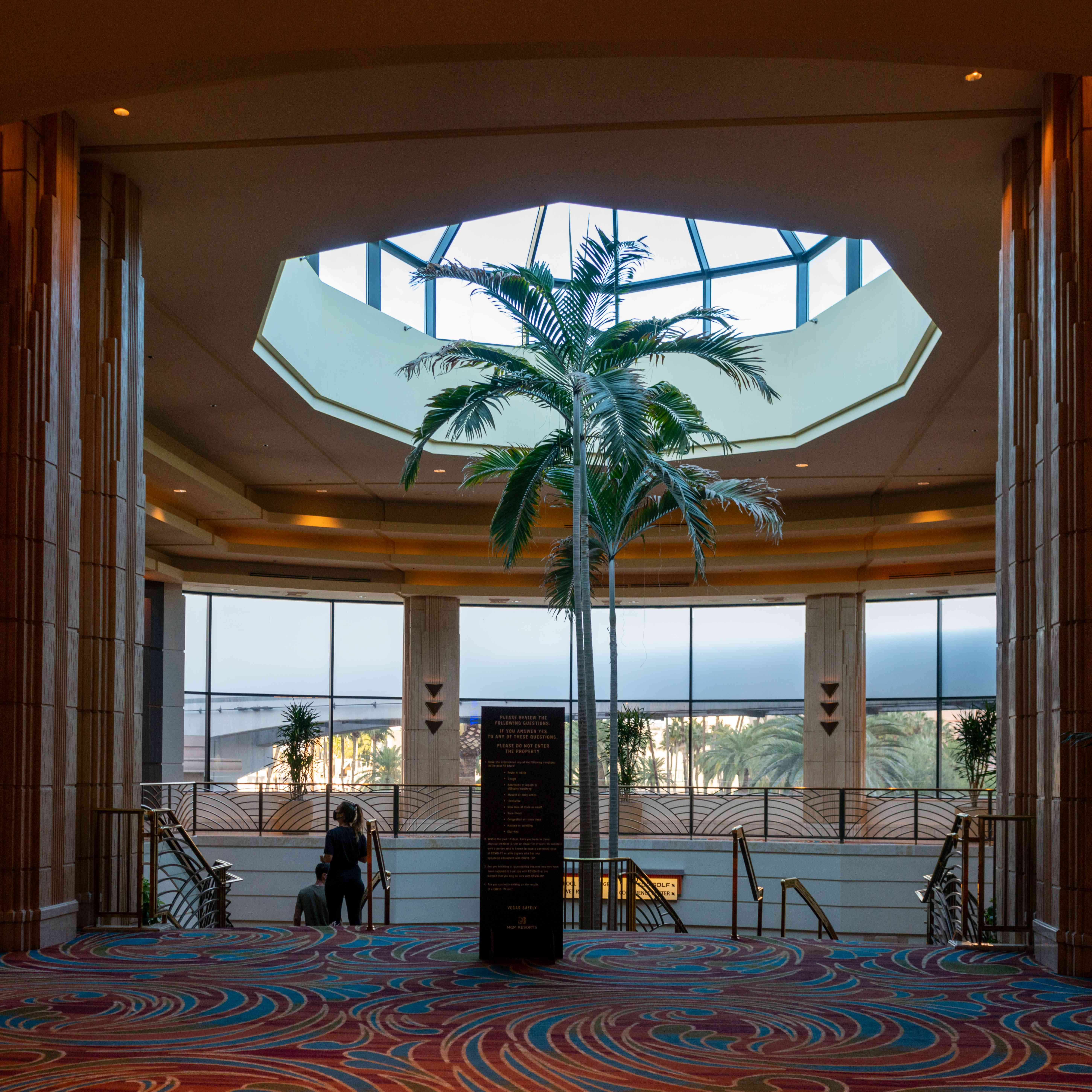 Lobby in MGM Grand