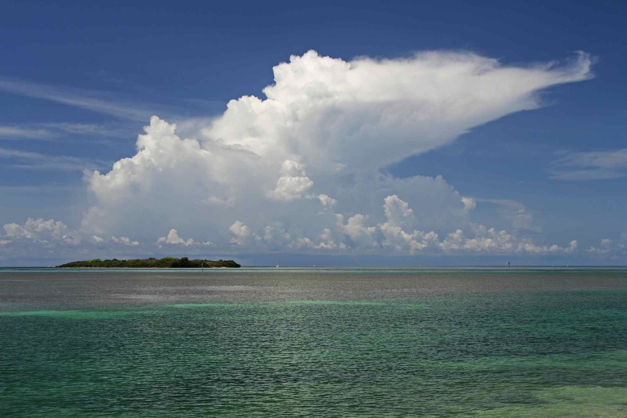Storm Forms Over Indian Key
