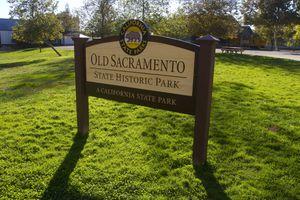 Old Sacramento park