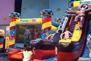 Pump It Up indoor play area