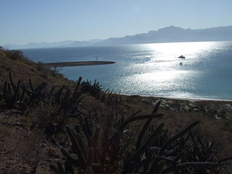 Sunshine on the Bay at Isla San Francisco in the Sea of Cortez, Mexico