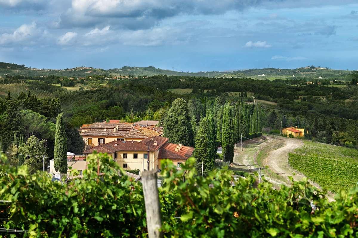 Ruffino Poggio Casciano wine estate