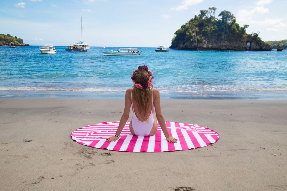Dock & Bay Circular Towel