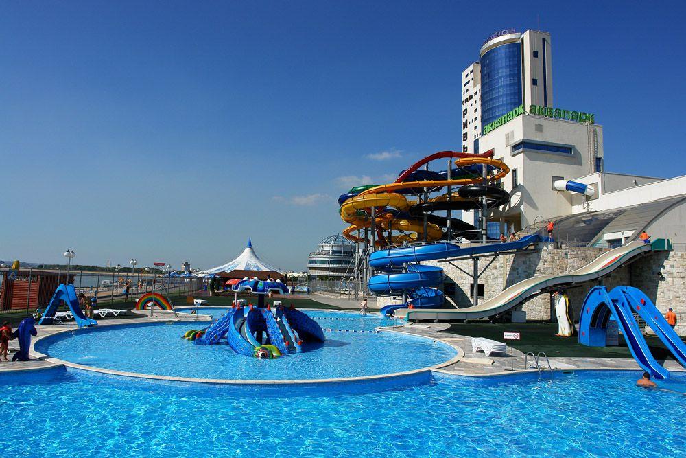 Riviera Aquapark in Kazan, Russia