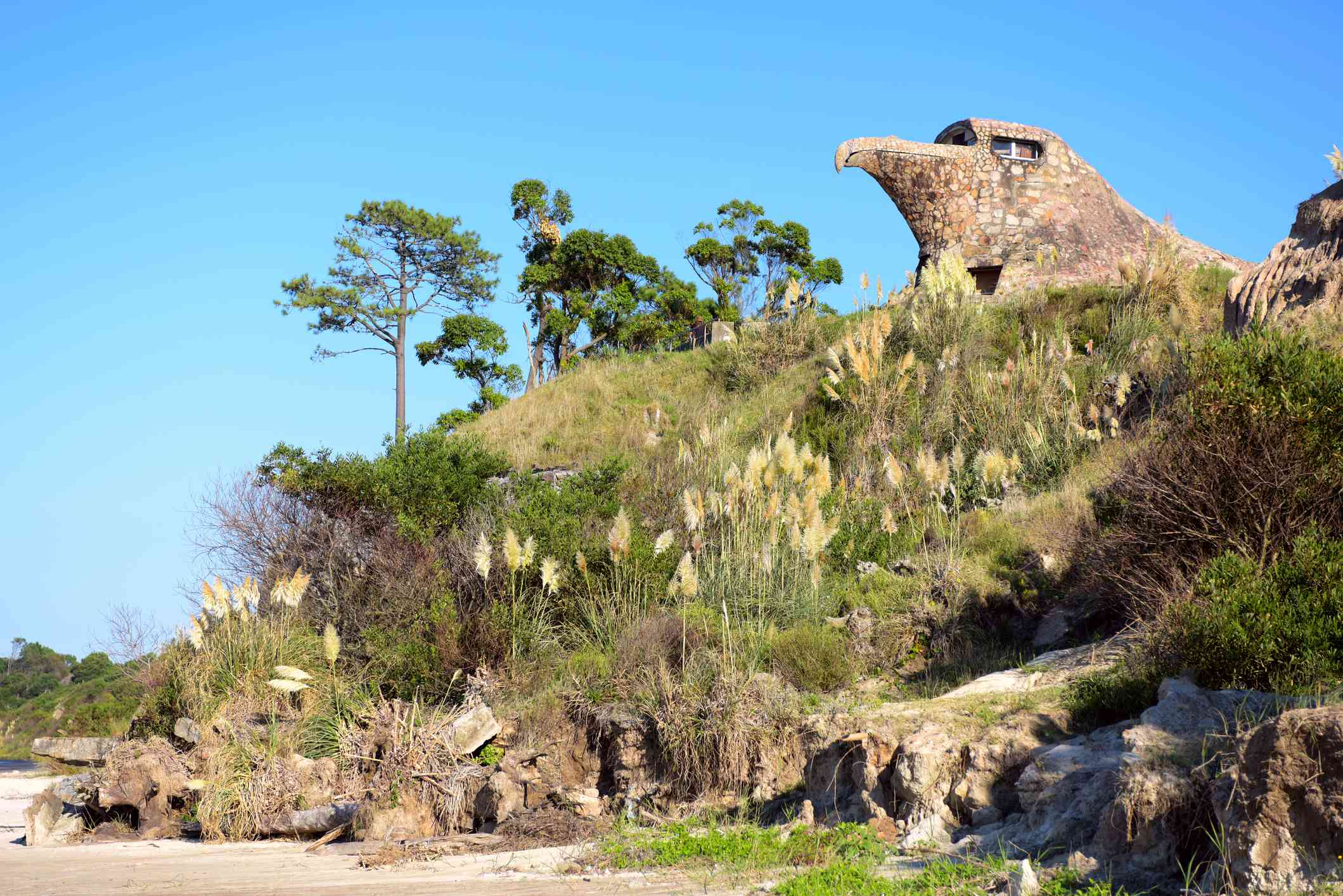 A general view of El Aguila (The Eagle), Atlantida, Uruguay