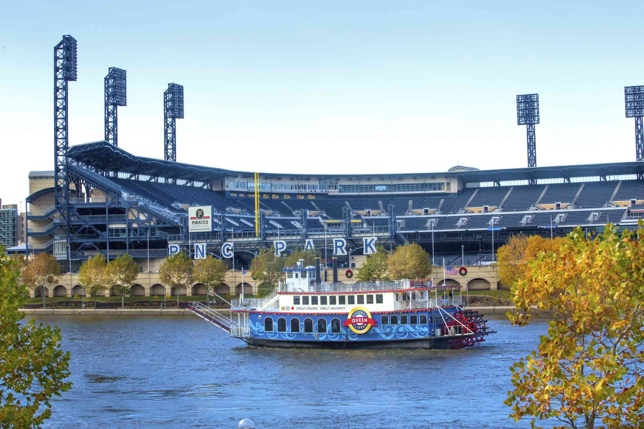 Riverboat in Pittsburgh
