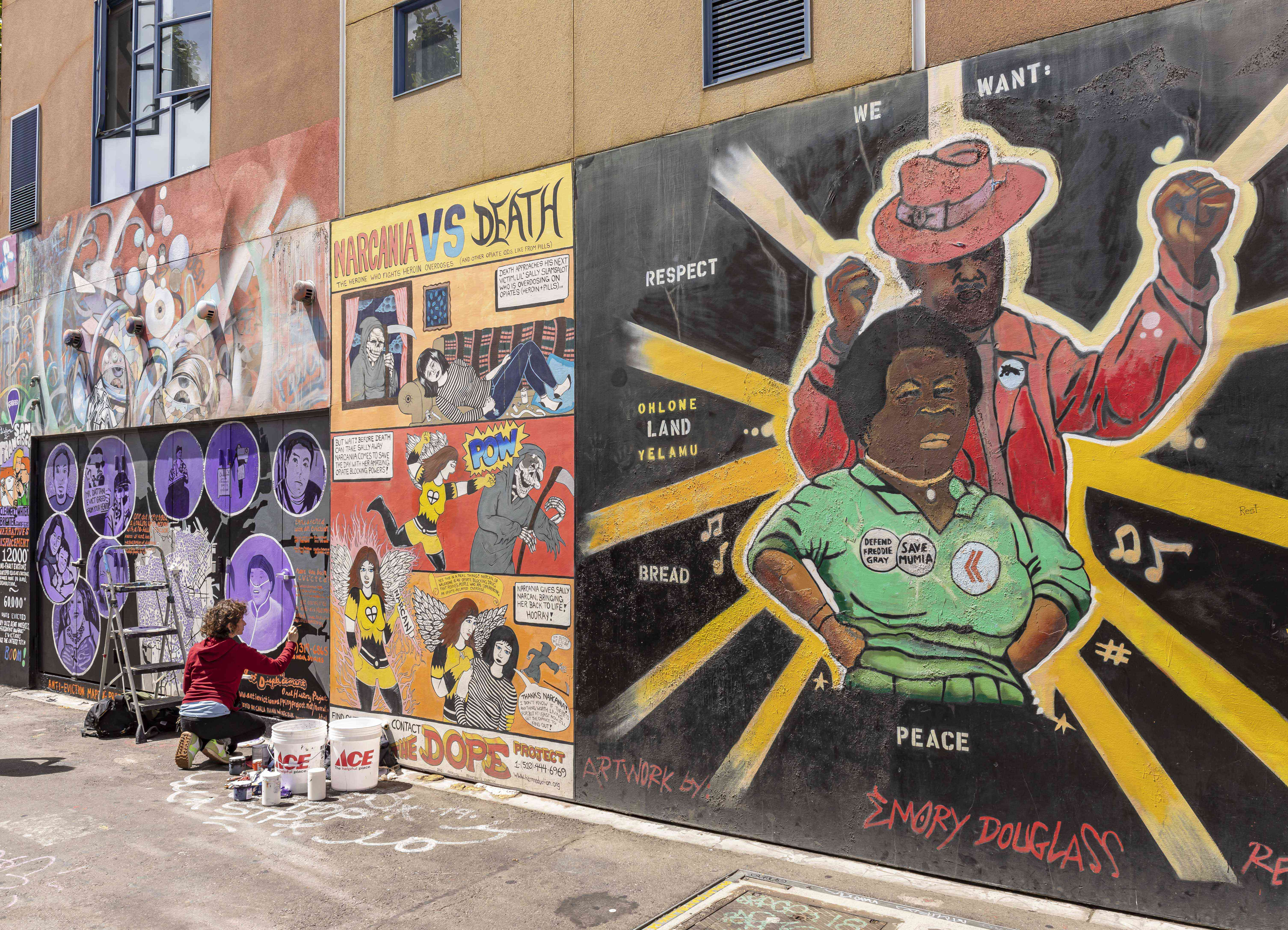 Mural in Mission District, San Francisco