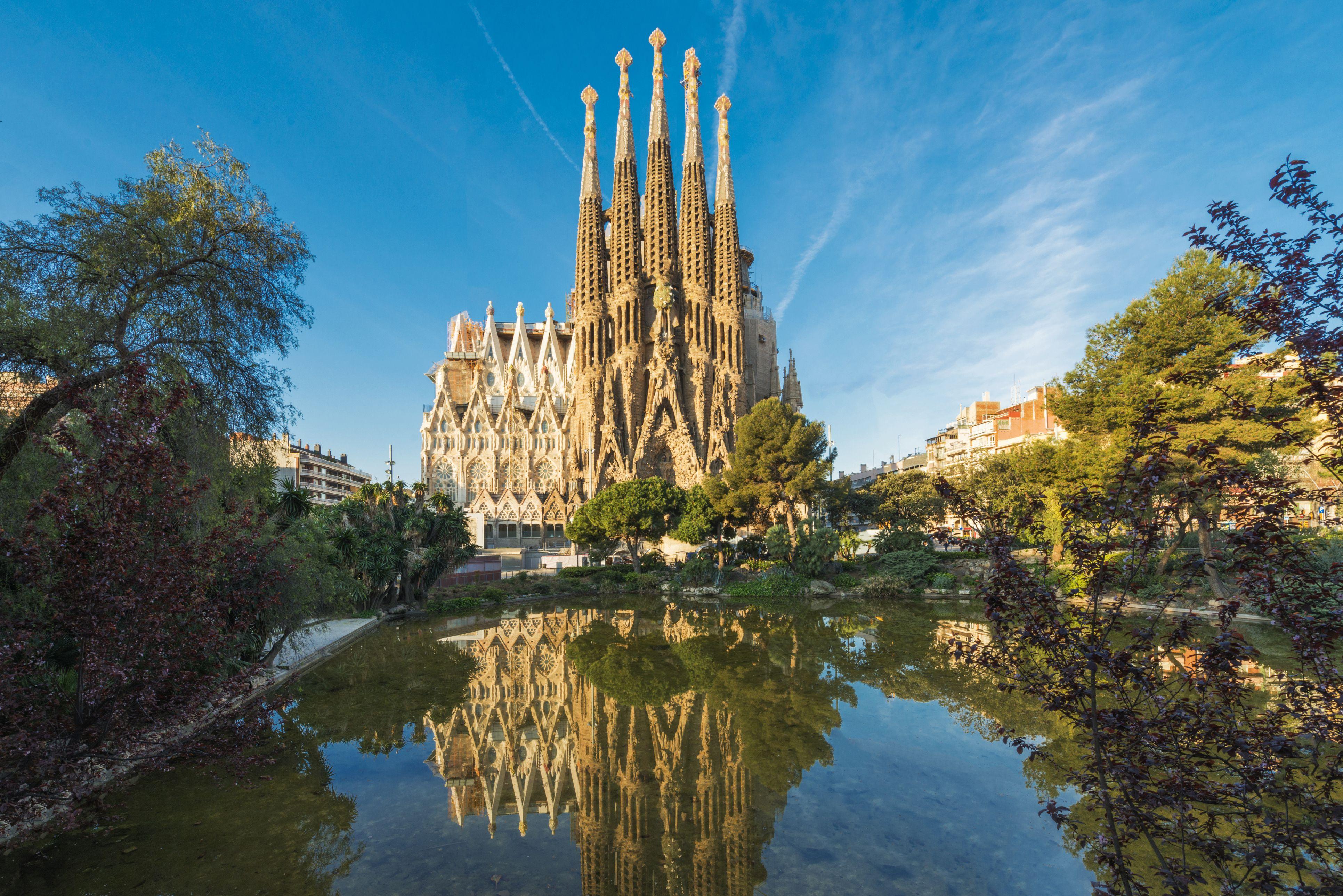Sagrada Familia at Spain, Barcelona