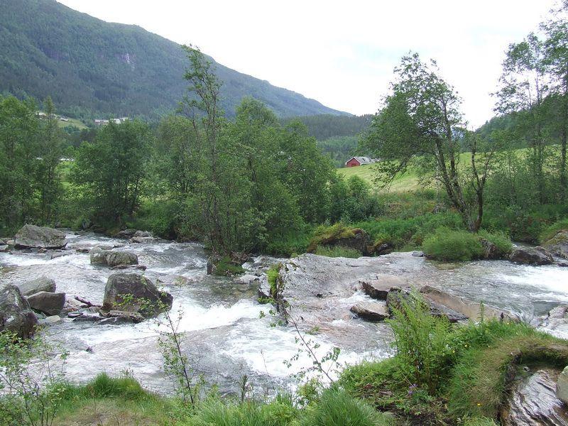 Norwegian River near Voss, Norway