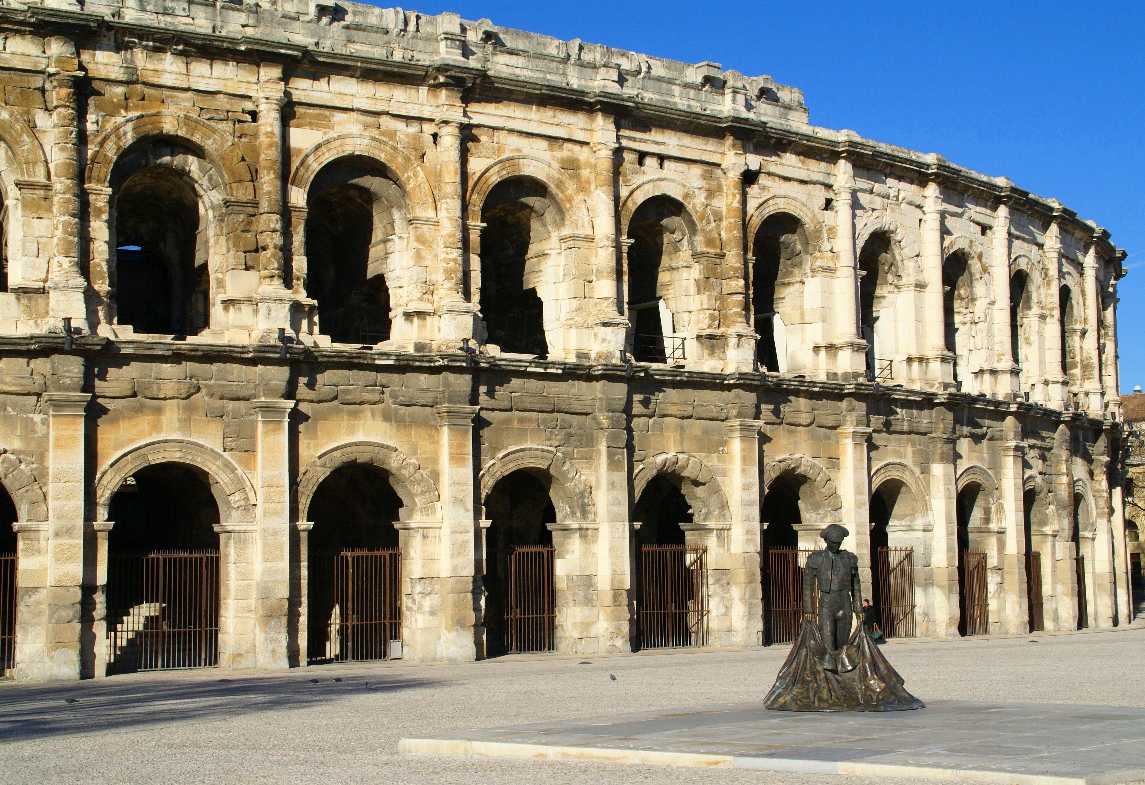 The Roman Arena at Nimes