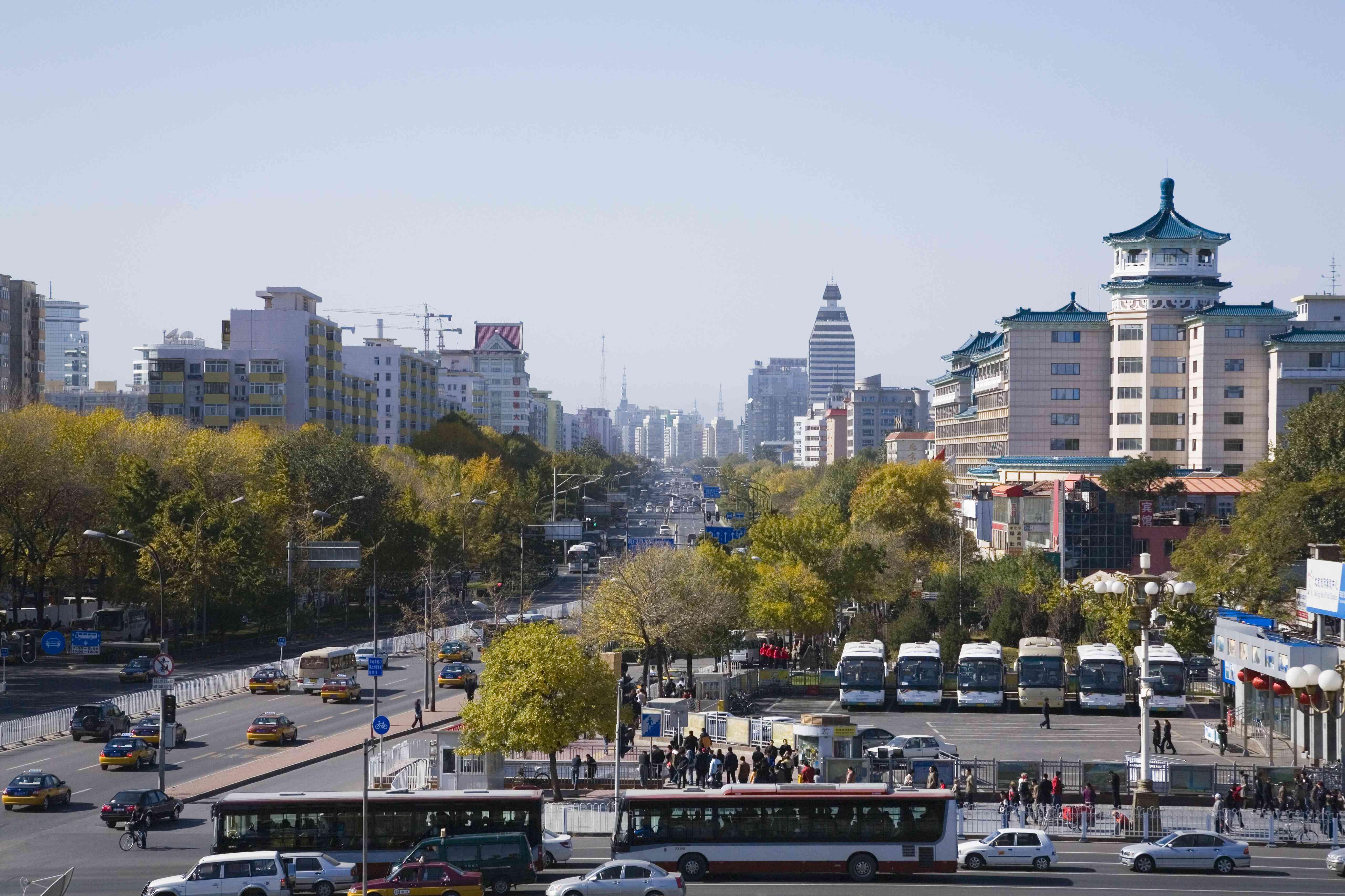 Beijing cityscape, Beijing, China
