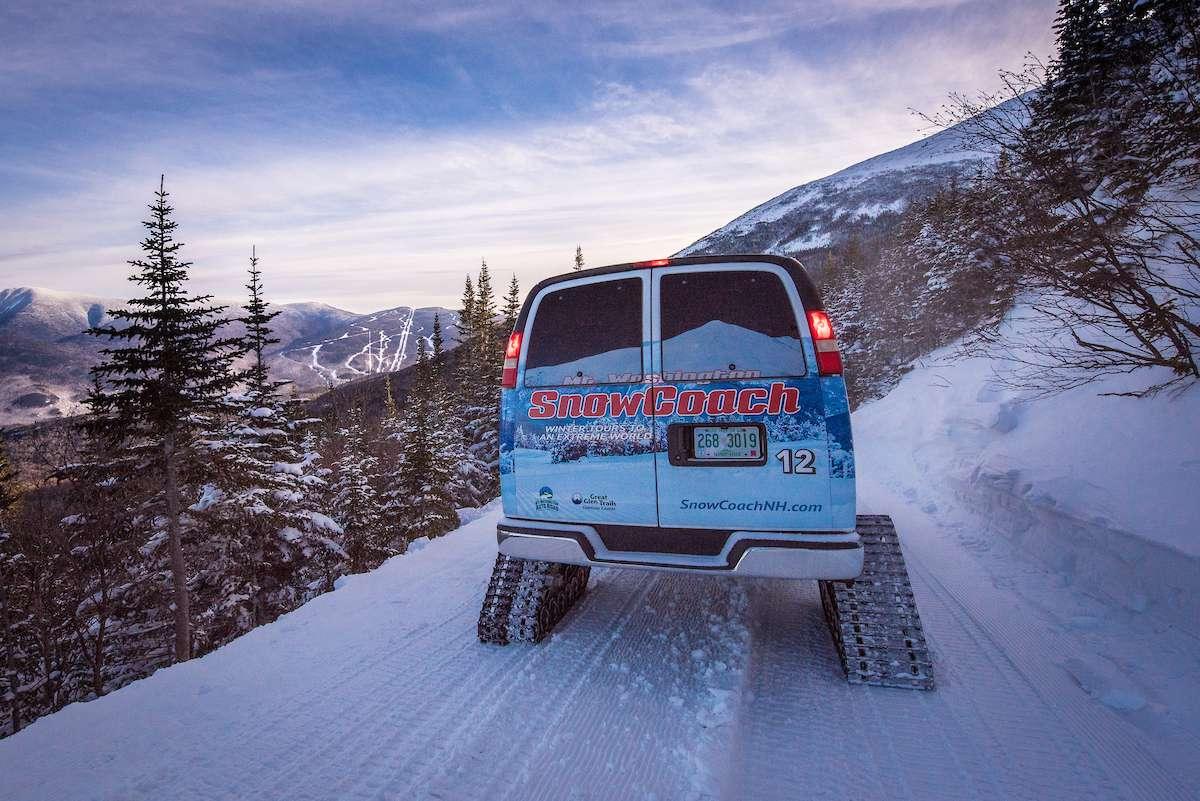 Mount Washington SnowCoach - Winter Fun in the White Mountains NH