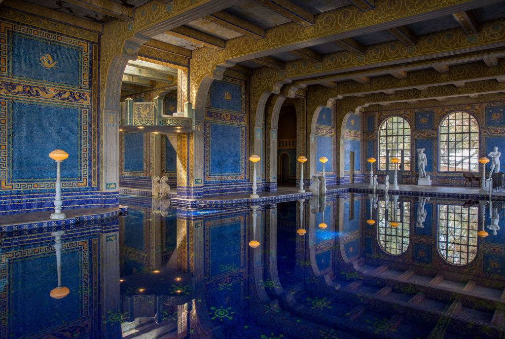 The Roman Indoor Pool at Hearst Castle