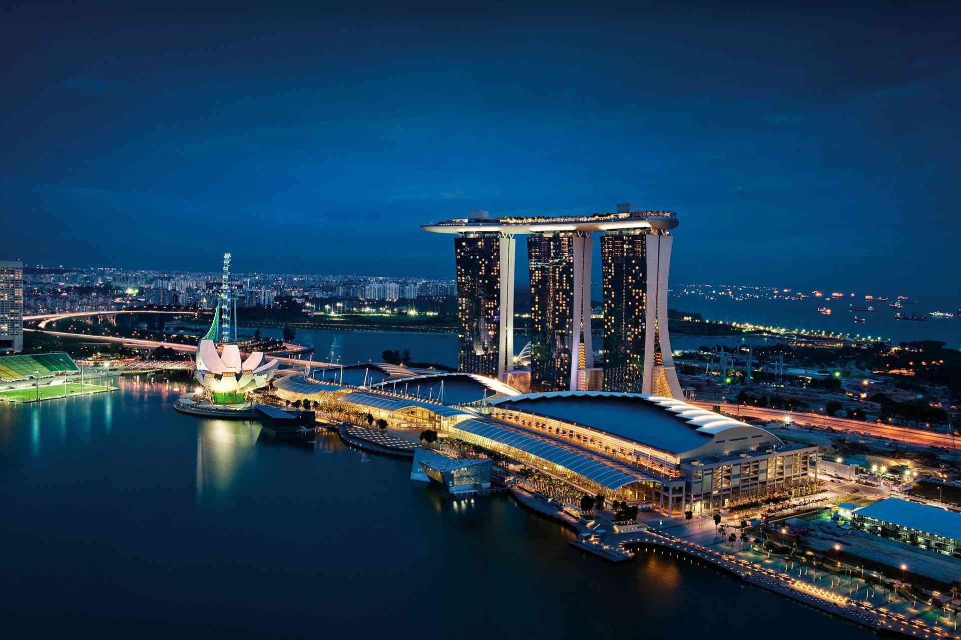 Singapore S Marina Bay Sands