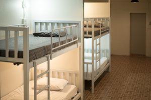 Shared hostel room