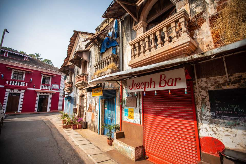 Goa's Fontainhas Latin Quarter