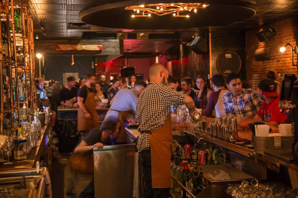 Montreal's best bars include Taverne Midway.