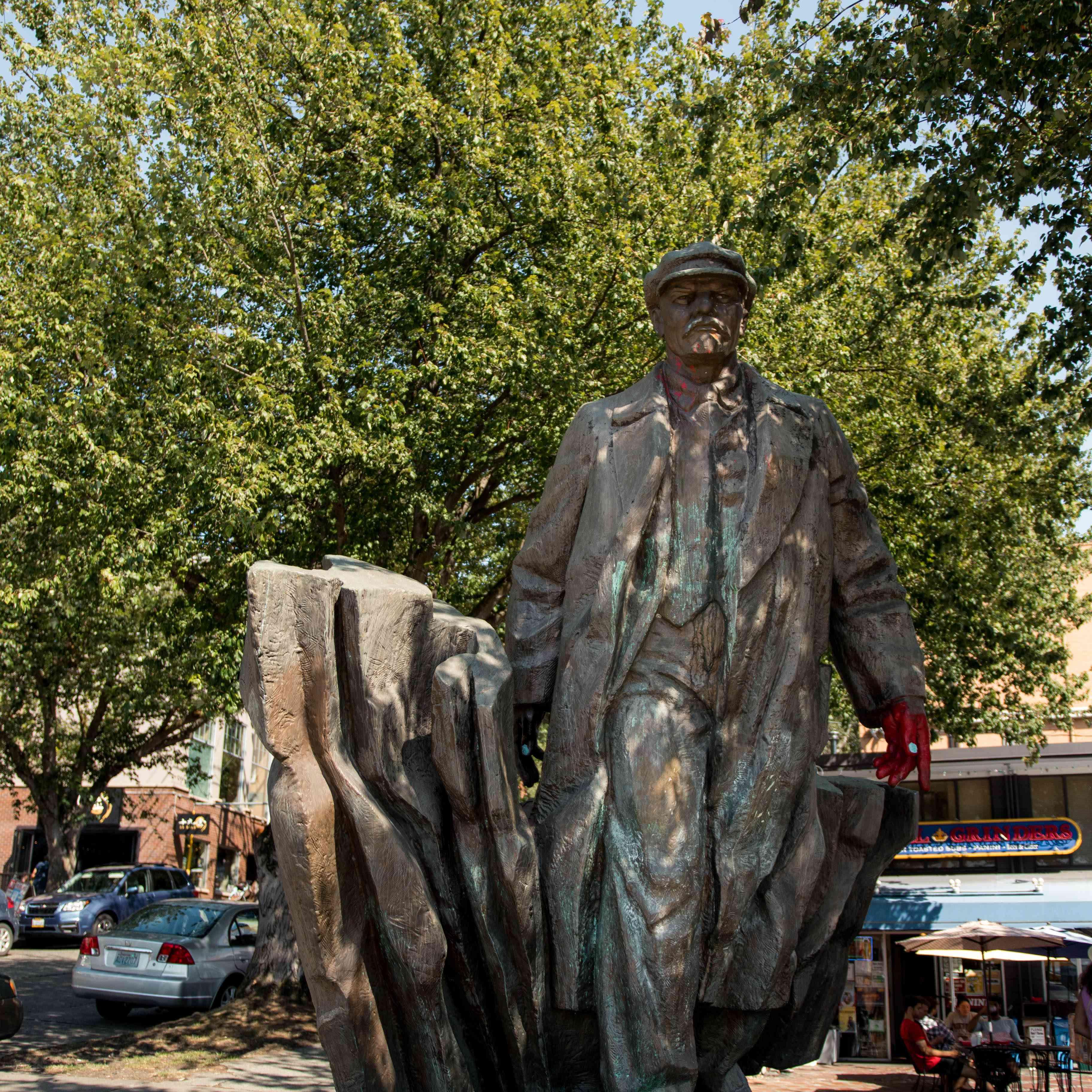 Statue of Vladimir Lenin, Fremont Street, Seattle, Washington