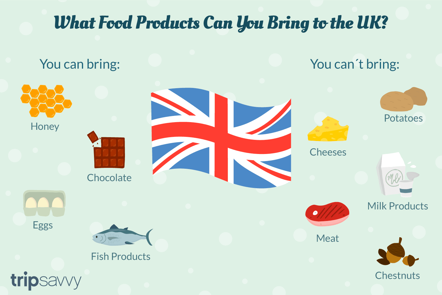 UK Customs Regulations - Bringing Foods to the UK?