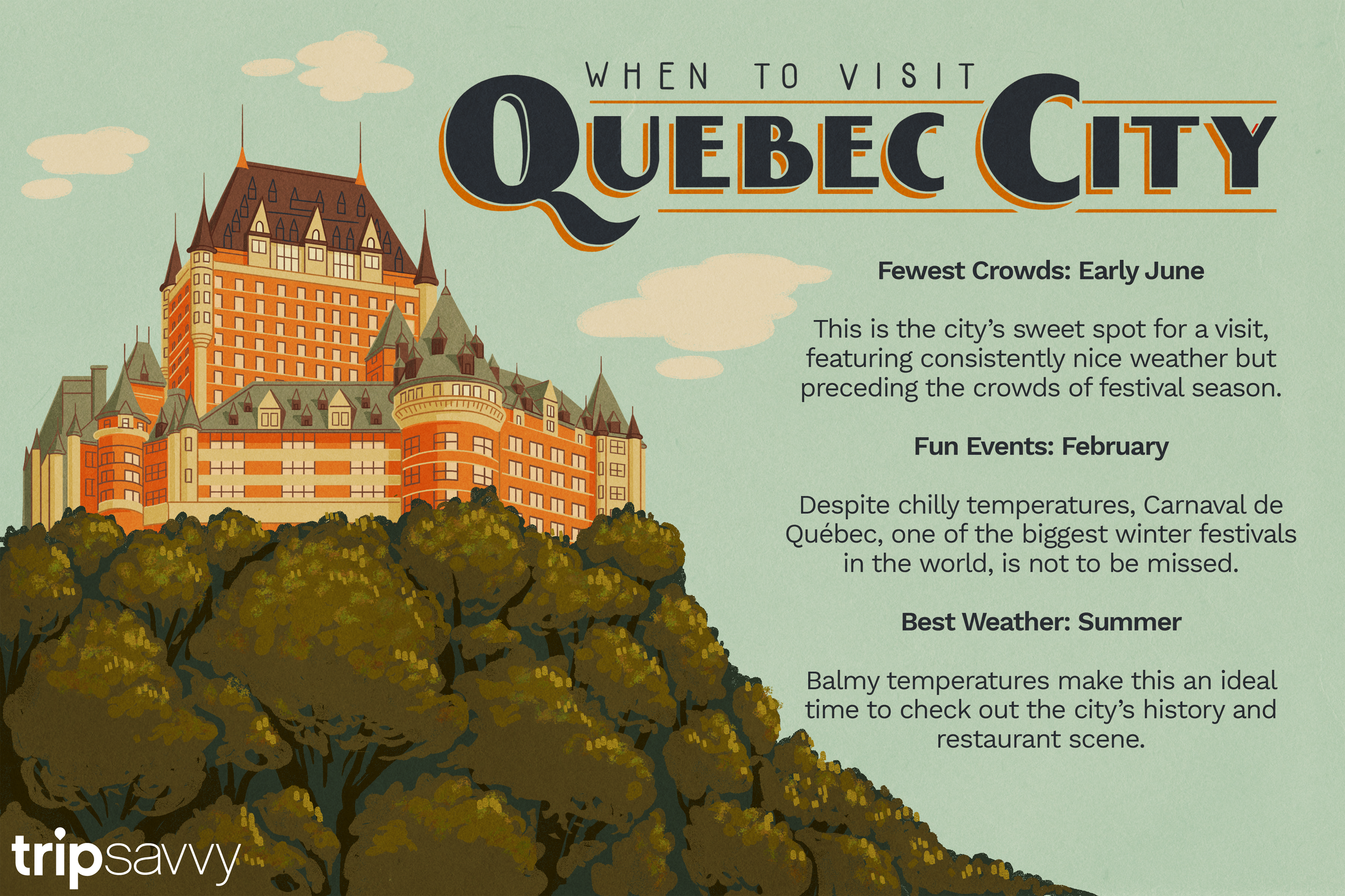 when to visit Quebec City