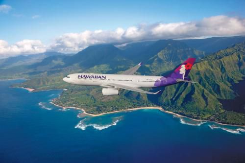 Hawaiian Airlines will operate the JFK-Honolulu route using its newest and largest aircraft, the Airbus A330-200, seating 294 passengers, and offering the comforts of a spacious interior, increased legroom.