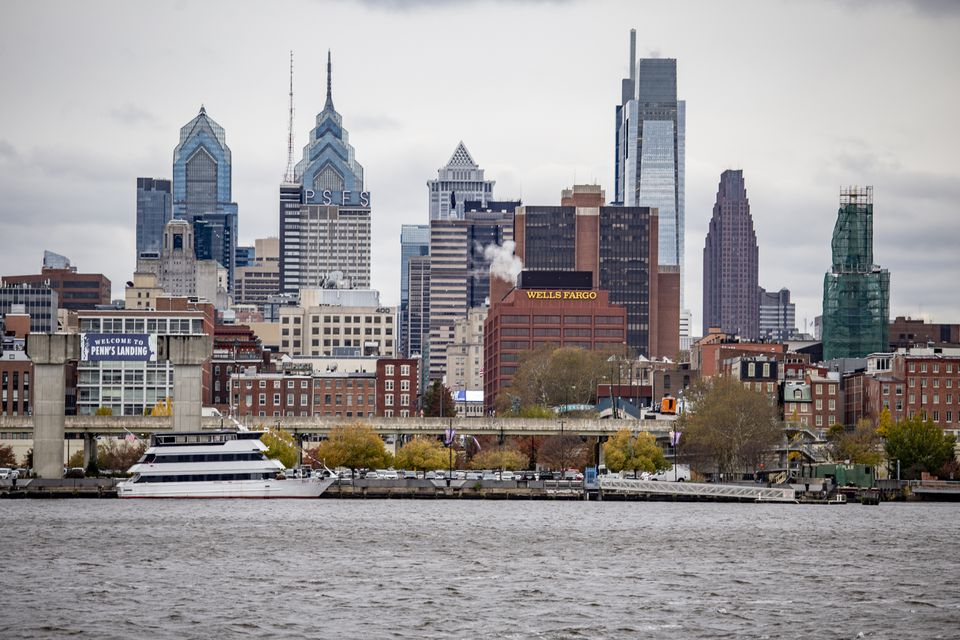 Scenic view of Philadelphia, PA