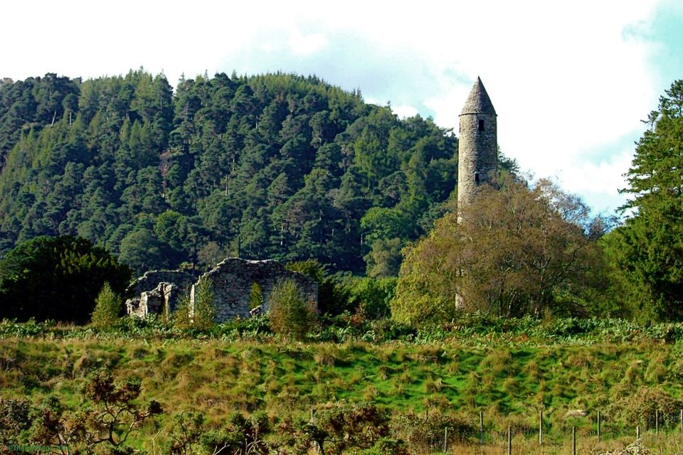 Glendalough in Shades of Green