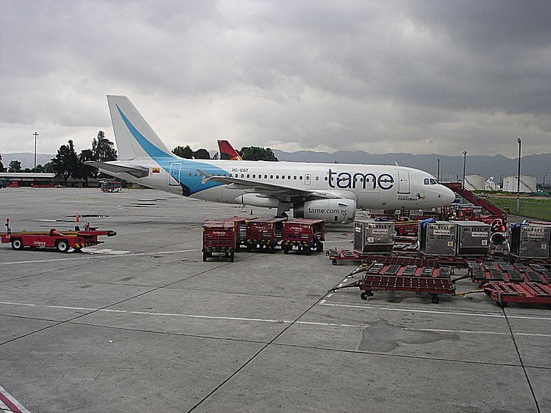 Tame flight in sky