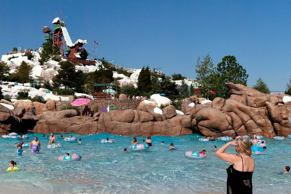 Blizzard Beach Water slide