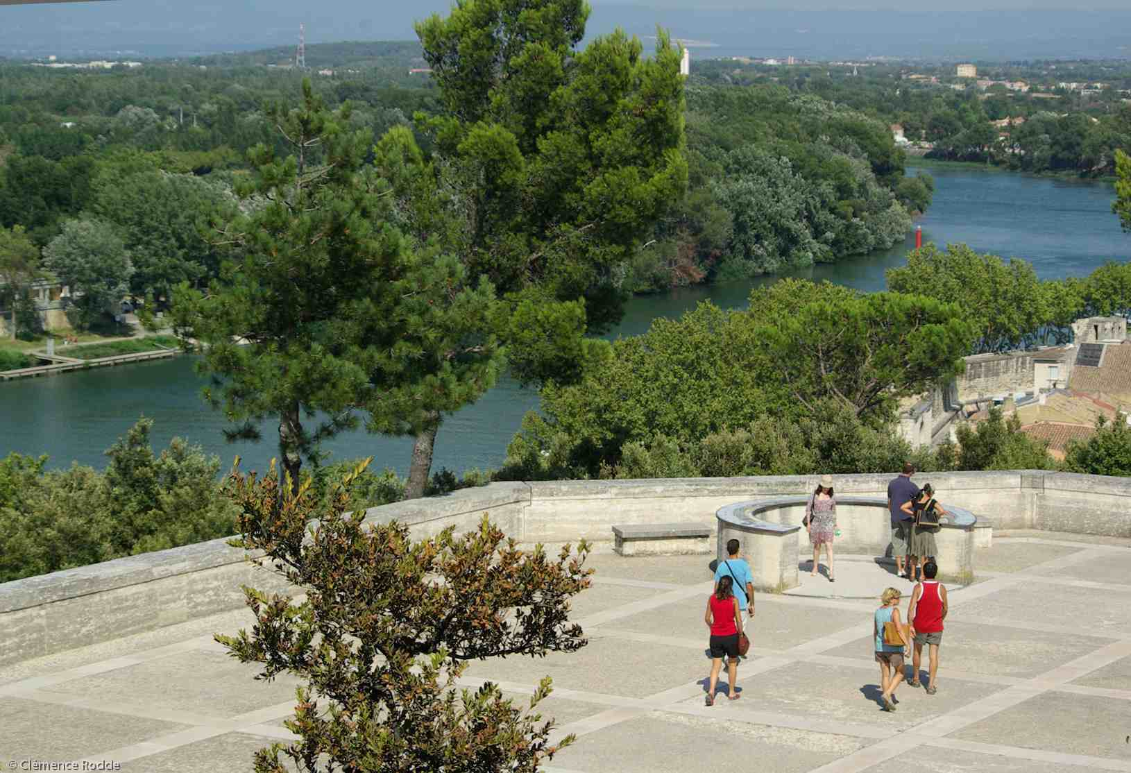 View from the Rocher des Doms Park