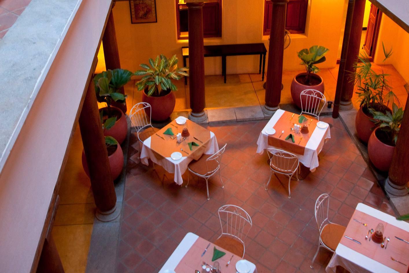 Restaurant in Pondicherry.