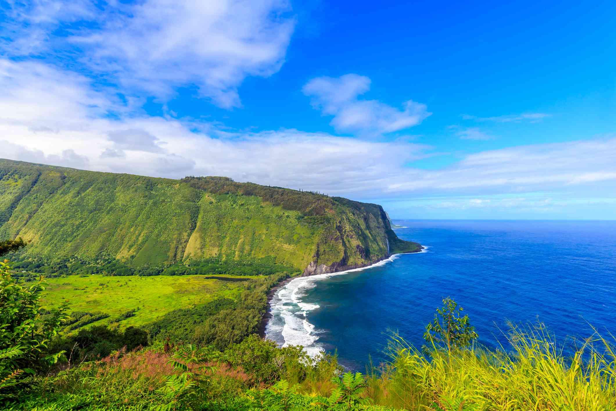 Waipiʻo Valley on Hawaii Island
