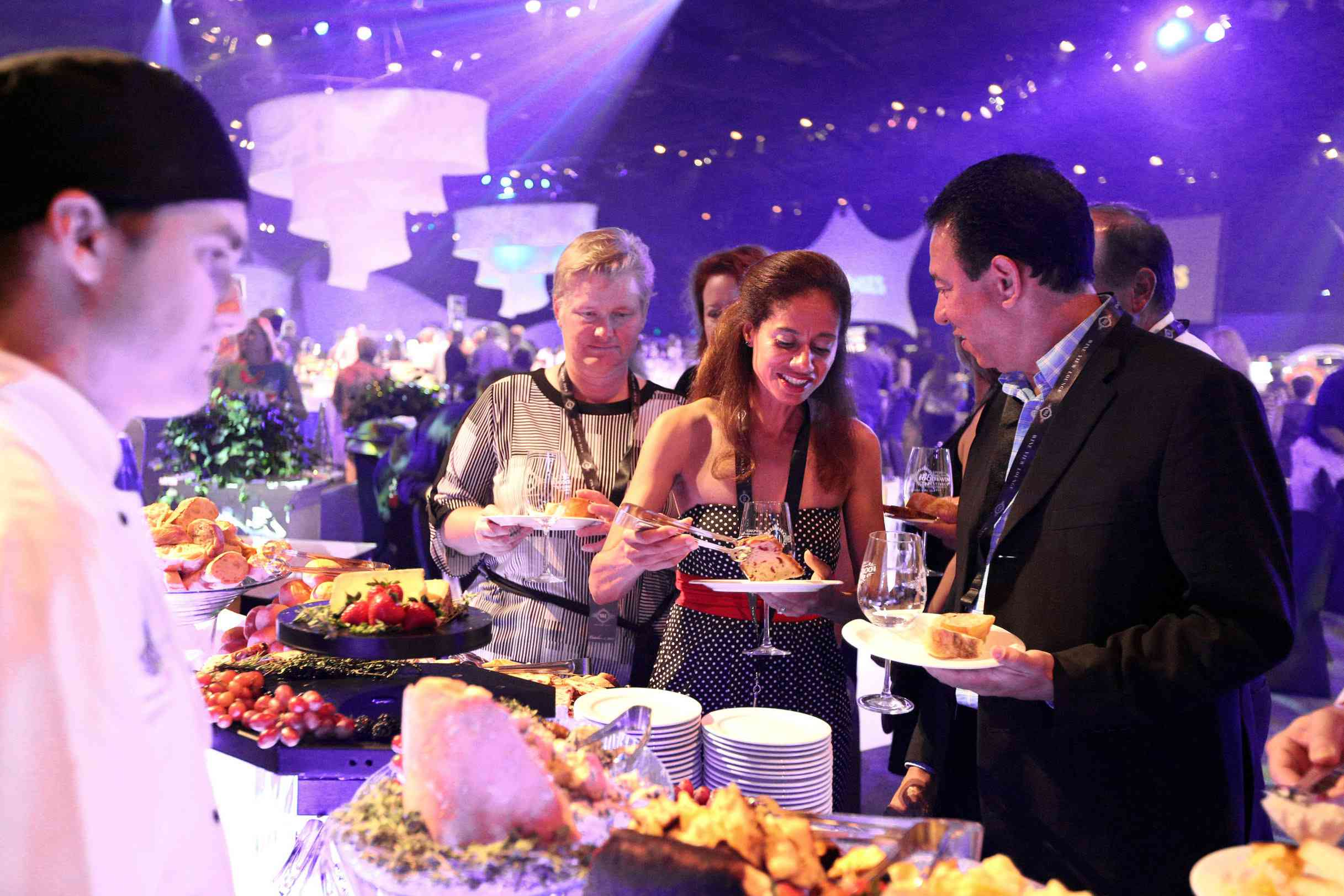 Party for the Senses during the Epcot International Food & Wine Festival