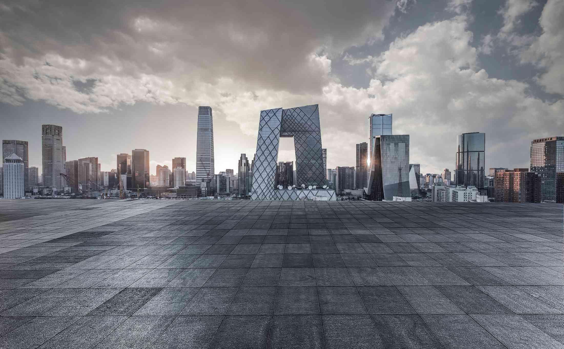 Beijing's CBD