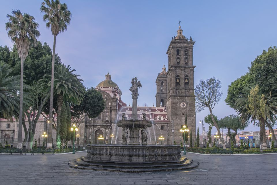 zócalo de Puebla, uno de los más bonitos zócalos de Puebla