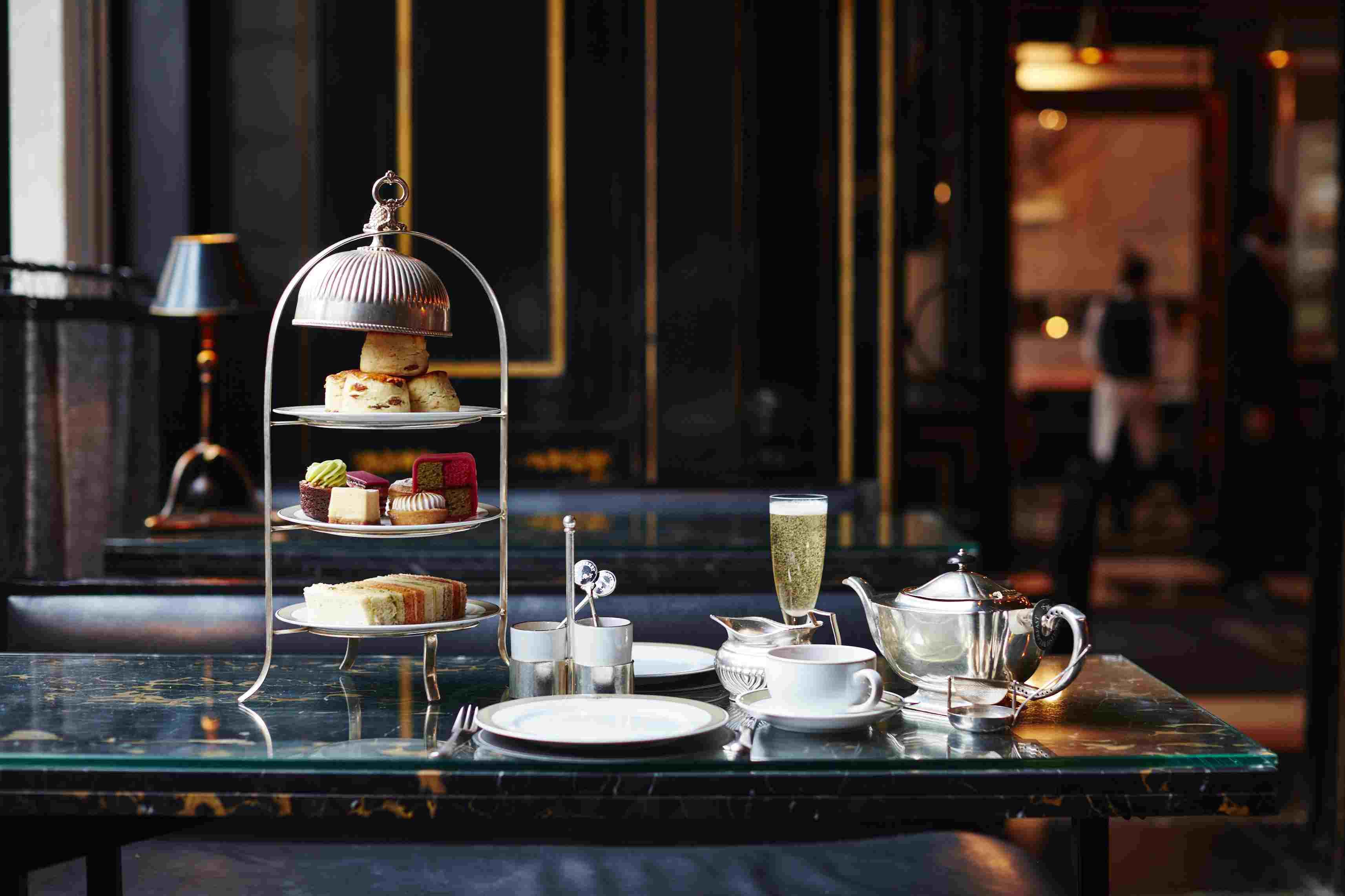 El servicio de té de la tarde de Wolseley