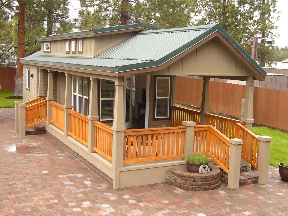 Park Model RV at Crown Villa RV Resort